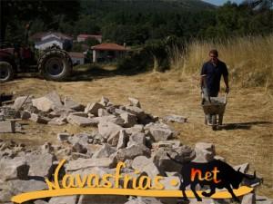 Navasfrias - OBRAS EN EL CEMENTERIO DE NAVASFRÍAS